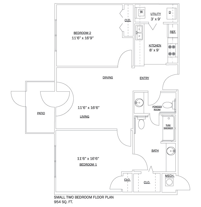 Half Bathroom Floor Plans Small